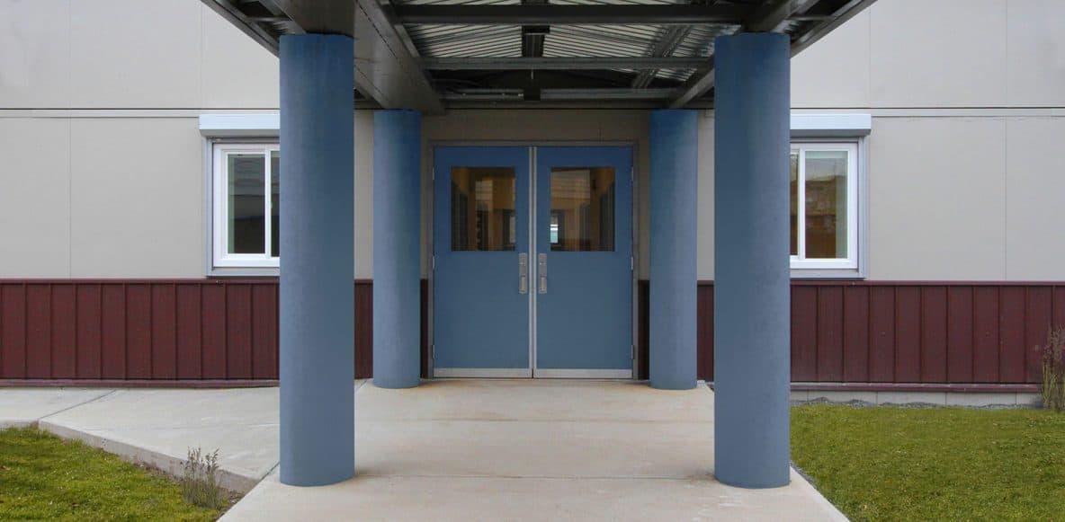 EXO Building System Blakeburn Front Doors
